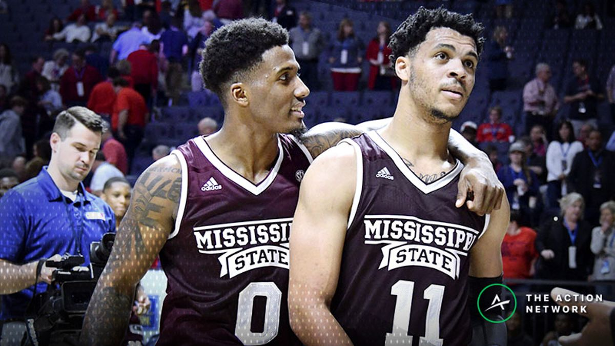 Stuckey's 10 Favorite College Basketball Situational Spots: Mississippi State-Kentucky and More article feature image