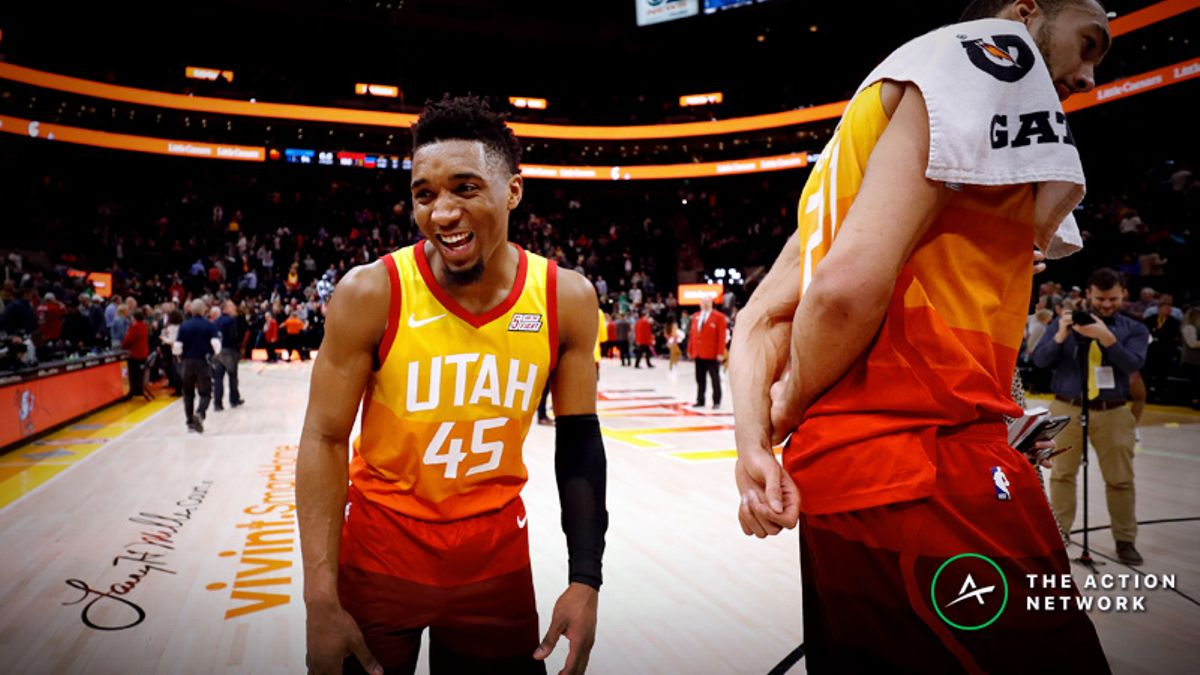 NBA Sharp Report: Hawks-Jazz Among 3 Games Drawing Smart Money article feature image