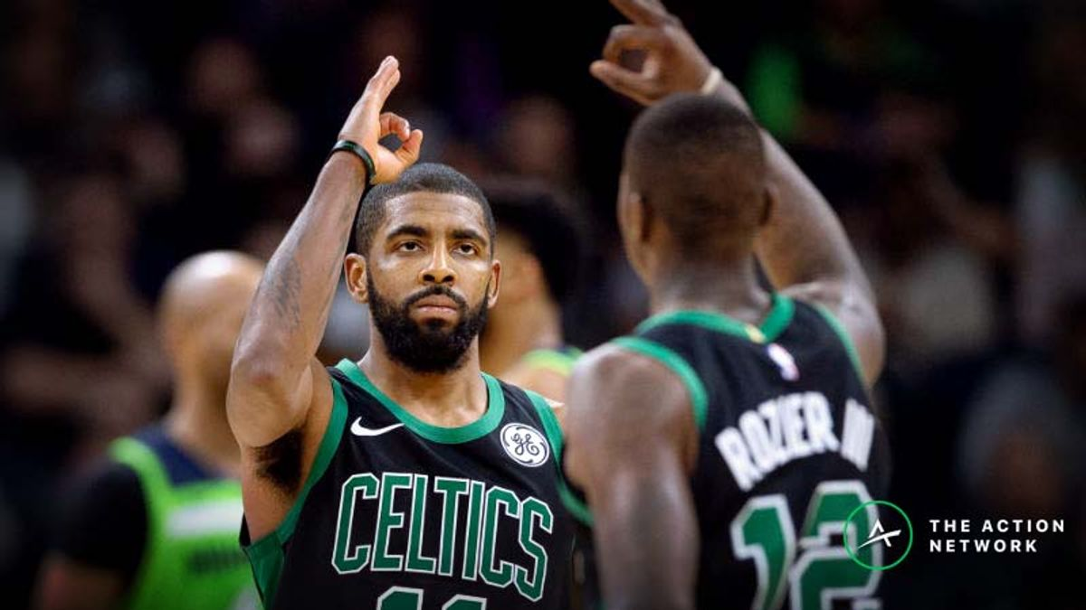 Wednesday's NBA Injury Report: Betting, DFS Impact of Kyrie Irving, Grizzlies, Warriors Injuries article feature image