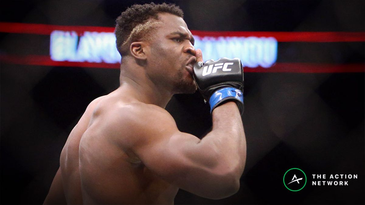 UFC on ESPN 1 Betting Odds: Cain Velasquez an Early Favorite Over Francis Ngannou, More article feature image