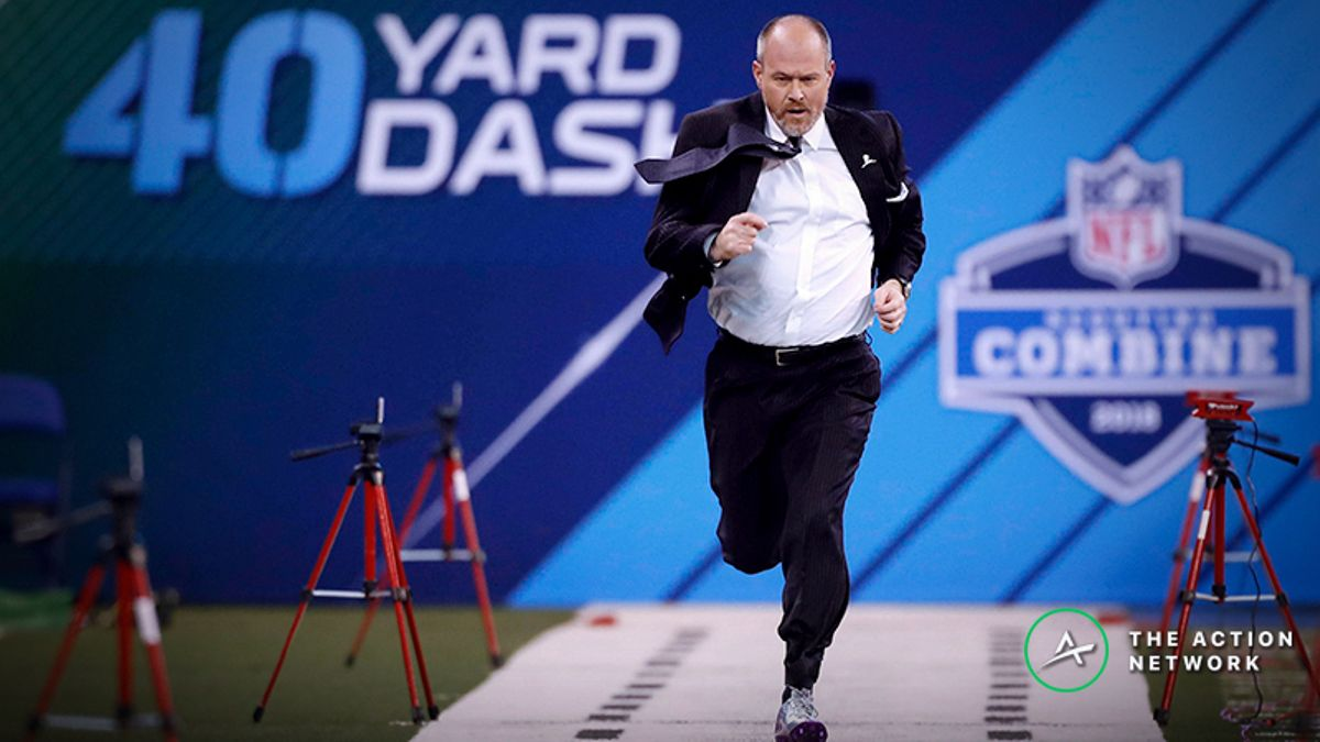 NFL Combine Props: Will Rich Eisen Run 40 Yards in Fewer than Six Seconds? article feature image