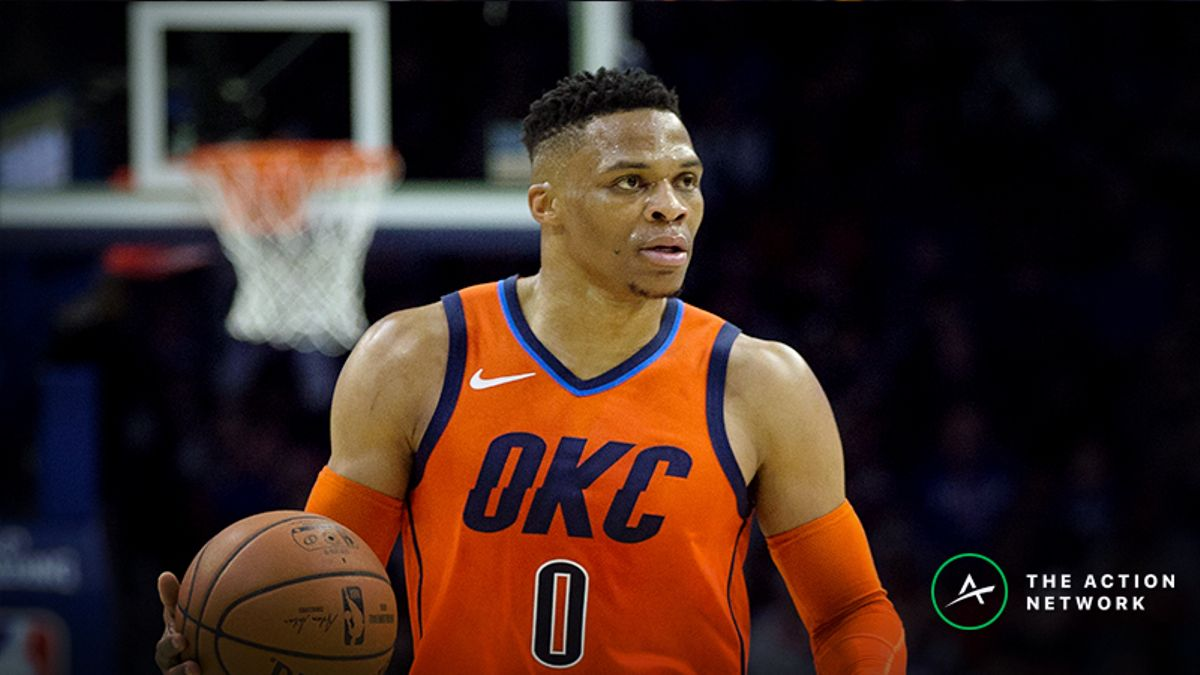 Raybon's Favorite NBA Props for Thursday: Russell Westbrook Over/Under 24.5 Points? article feature image