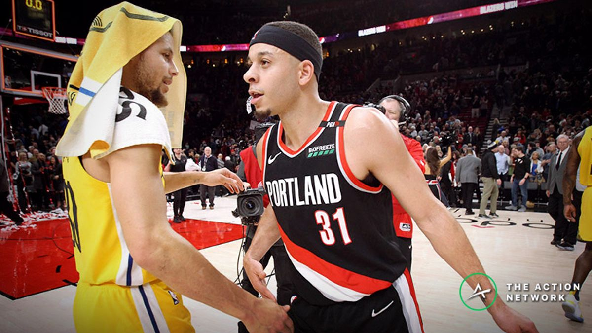 Cash Brothers: Steph, Seth Curry Place Bet on 3-Point Contest article feature image