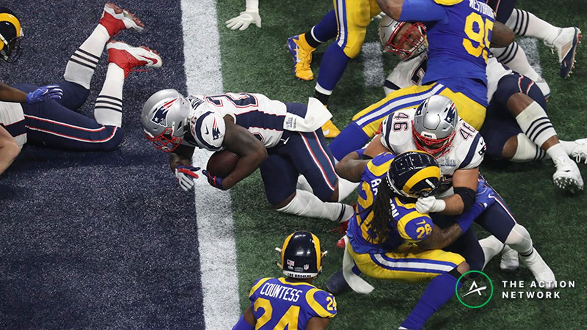 How Sony Michel's TD Saved Sportsbooks from Disaster article feature image