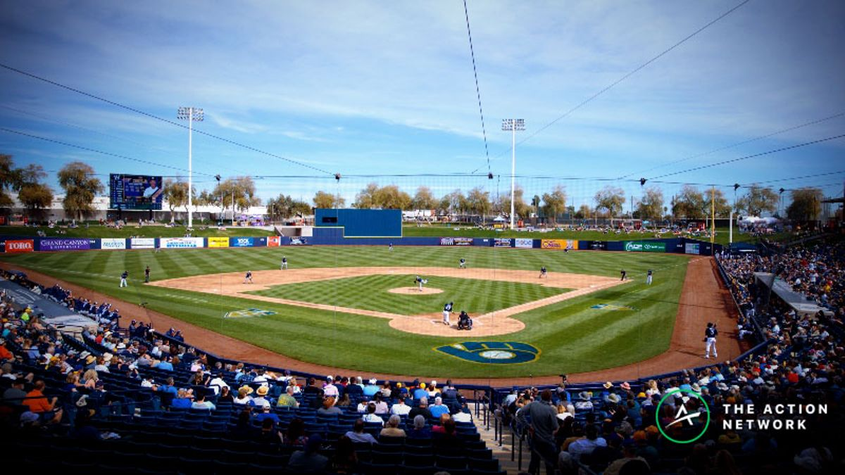 MLB Betting Tip: A Winning Strategy for Spring Training Games article feature image