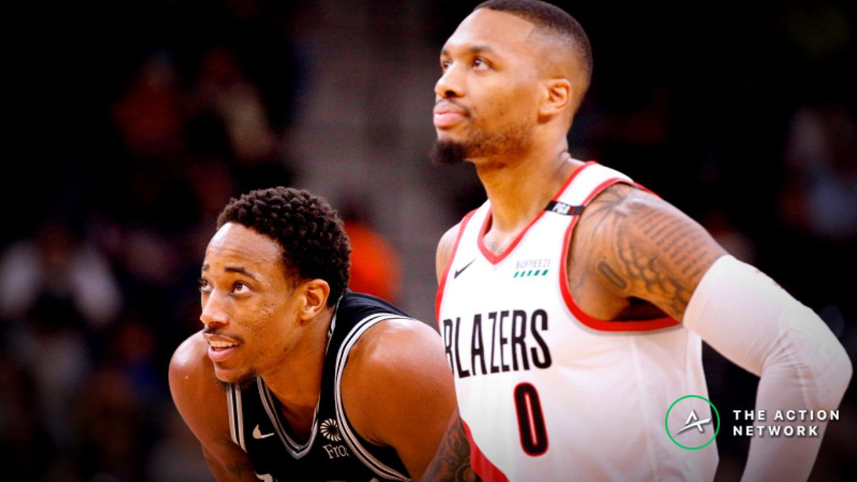 NBA Sharp Report: Wiseguys Betting Spurs-Blazers, 3 Other Thursday Games article feature image