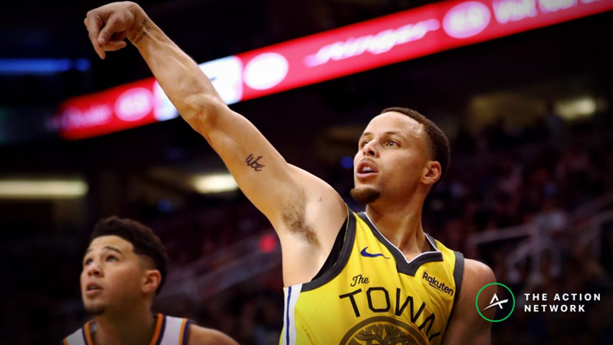 2019 NBA 3-Point Contest Odds: Stephen Curry Favored Over Booker, Lillard, Field article feature image