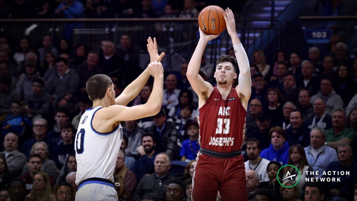 CBB Sharp Report: Pros Betting St. Joseph's-Davidson, 2 Other Friday Games article feature image
