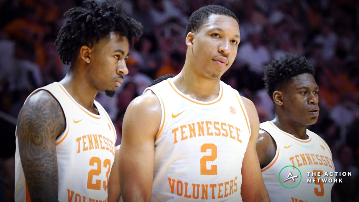 College Basketball National Championship Contenders: Tennessee's Defense is Slipping article feature image