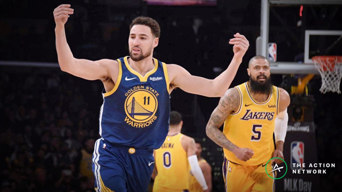 NBA Sharp Report: Lakers-Warriors Among 3 Saturday Games Drawing Smart Money article feature image