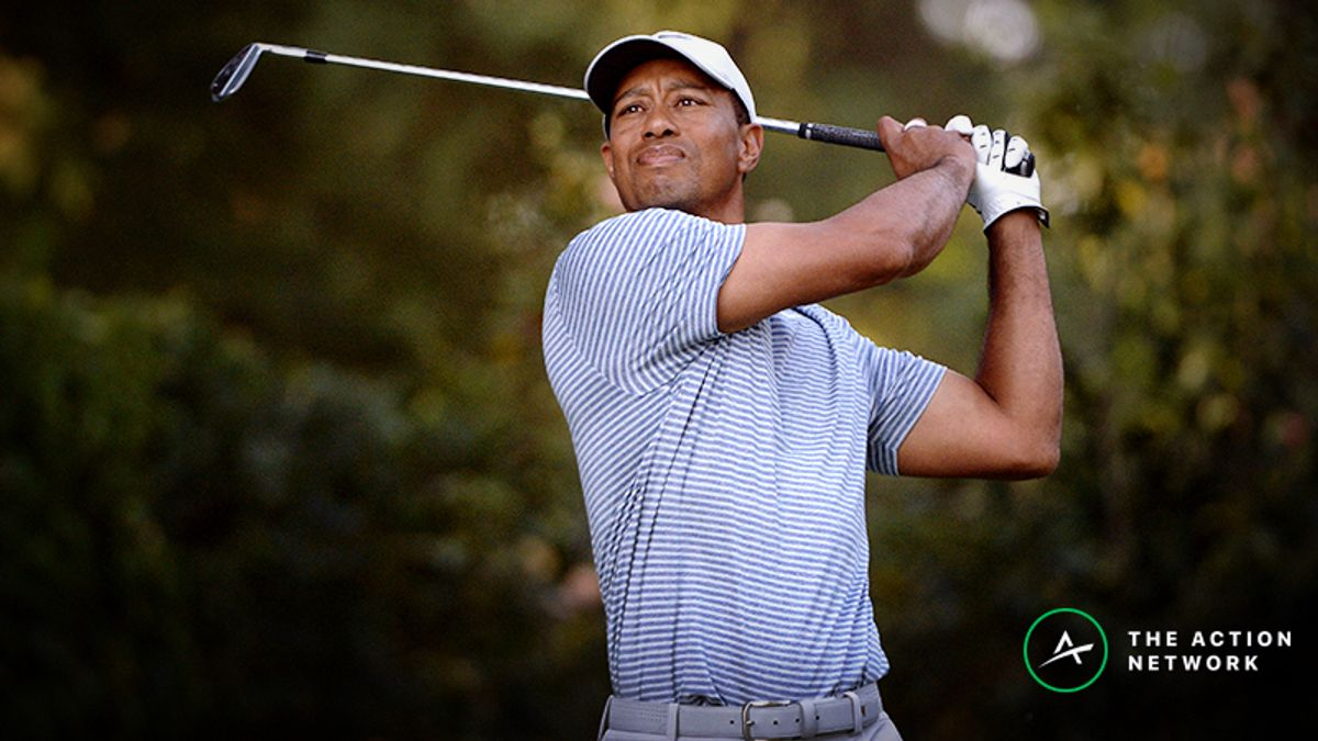 Sobel's WGC-Mexico Matchup Bets: Will Tiger Bounce Back in Round 2? article feature image