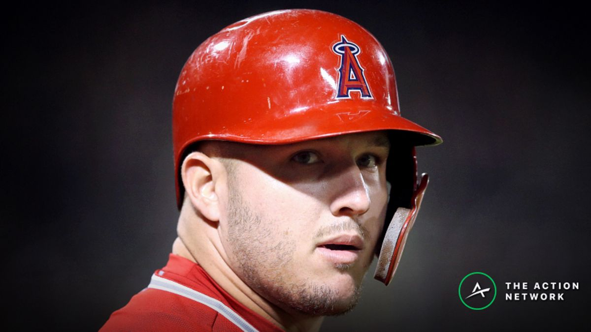 Mike Trout Injury Driving Major Angels-Cubs Line Movement article feature image