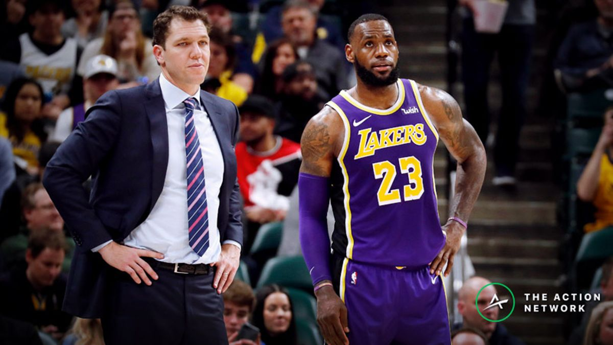 Moore: Will the Lakers Make Playoffs? Analyzing the Prop Bet for LeBron James' Postseason Push article feature image