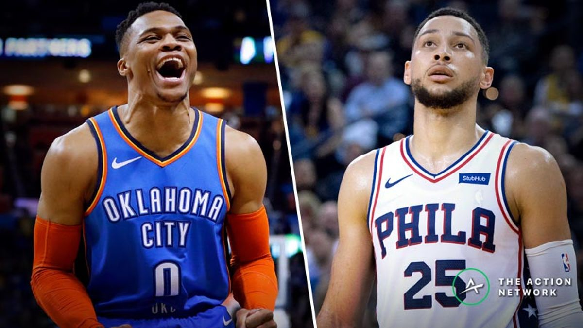 76ers-Thunder Betting Preview: Can Oklahoma City Maintain the Streak? article feature image