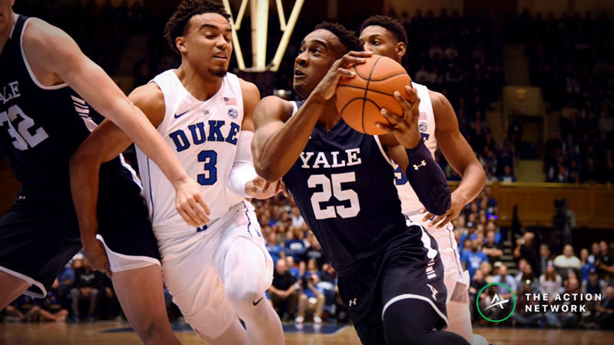 Friday's College Basketball Betting Preview: Columbia-Harvard, Princeton-Yale article feature image