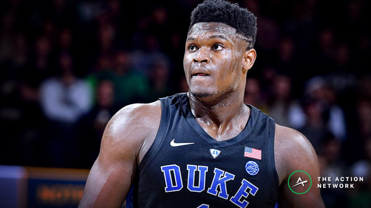 Freedman's Favorite NBA Draft Prop: Zion Williamson Will Be the No. 1 Pick article feature image