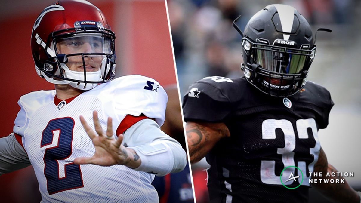 Your Ultimate Week 8 AAF Betting Guide: Picks, Analysis, More For All 4 Games article feature image