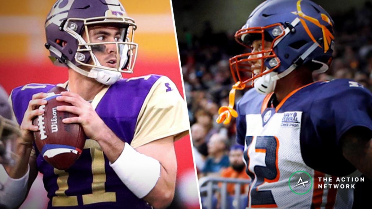 Koerner's AAF Power Ratings: Use My Projections to Find the Best Week 6 Bets article feature image
