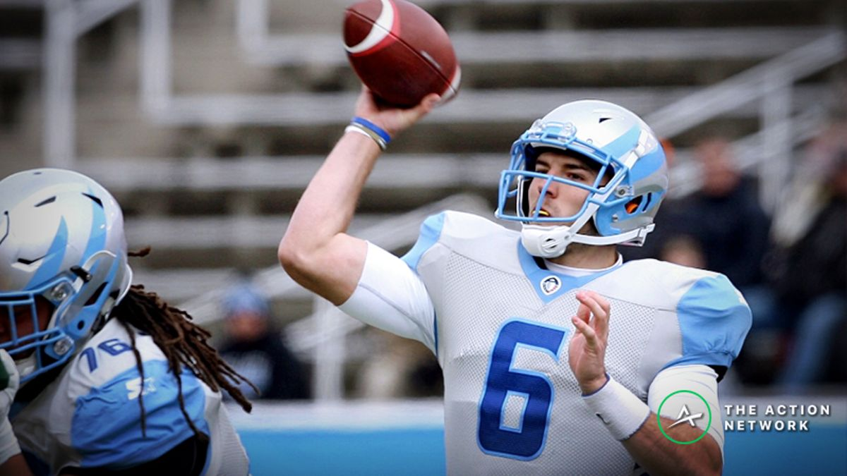San Diego Fleet-Salt Lake Stallions AAF Betting Guide: Roll with Josh Woodrum? article feature image