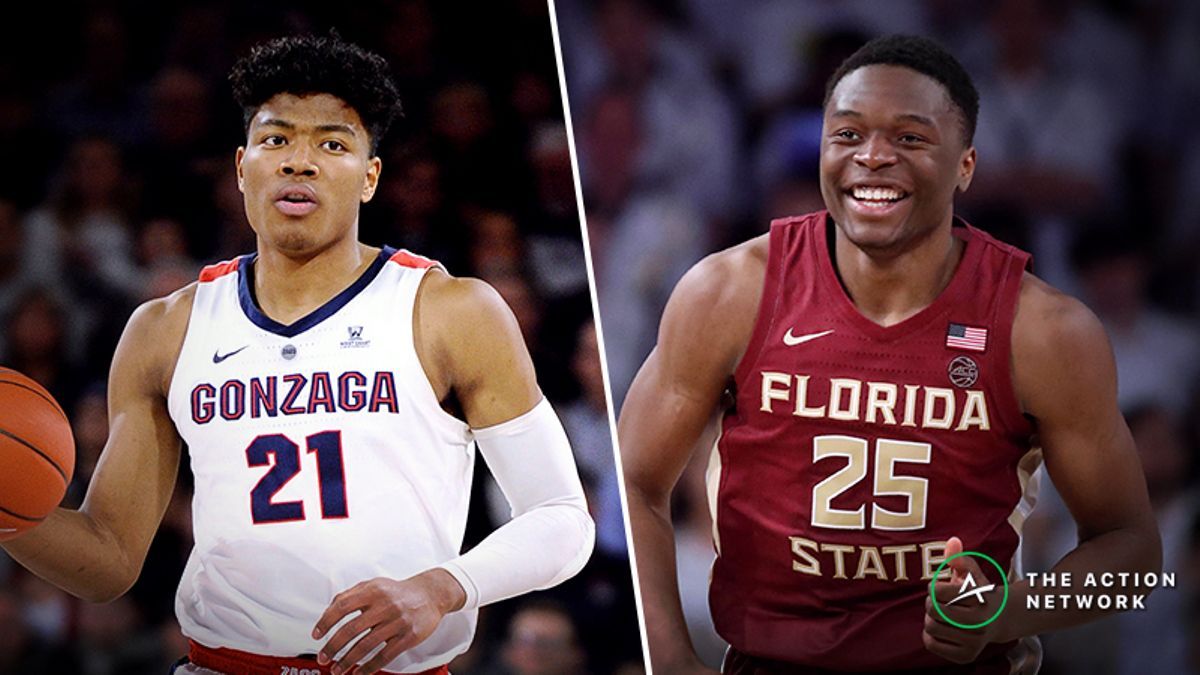 Gonzaga vs. Florida State Betting Guide: Will Seminoles Pull Another NCAA Tournament Upset? article feature image