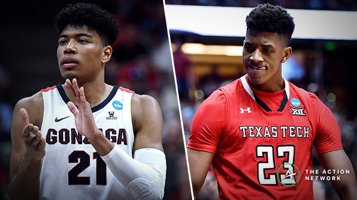 Gonzaga vs. Texas Tech Betting Guide: Nation's Top Offense, Defense Meet in NCAA Tournament article feature image