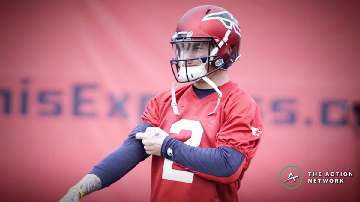 Birmingham Iron-Memphis Express AAF Betting Guide: Are Iron Undervalued with Johnny Manziel Not Starting? article feature image