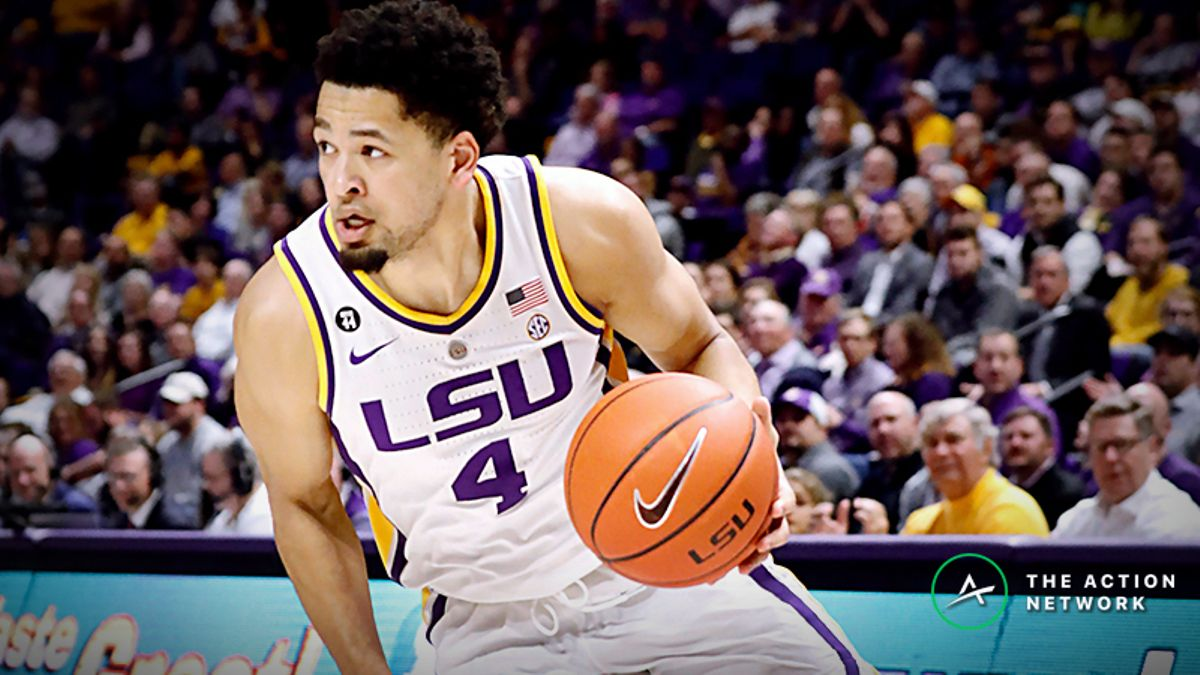 Freedman's Favorite NCAA Tournament Player Prop Bets for Michigan State-LSU & More article feature image