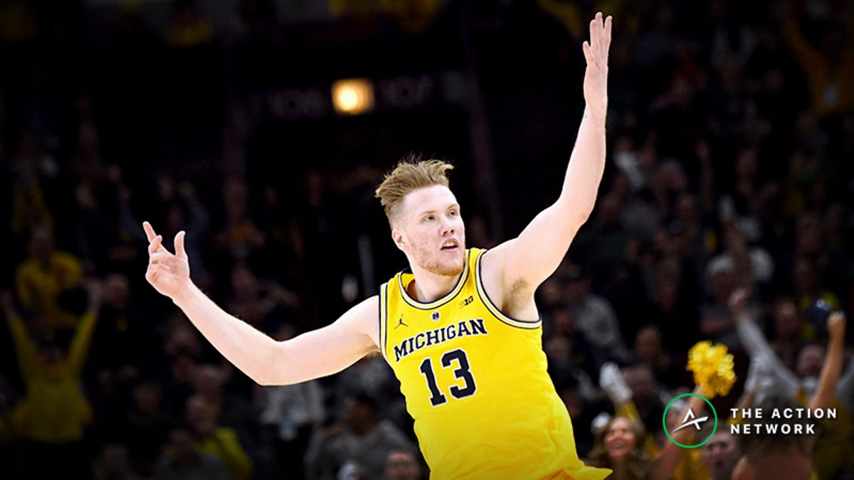 Freedman's Favorite NCAA Tournament Player Prop Bets for Michigan-Texas Tech, Virginia-Oregon article feature image