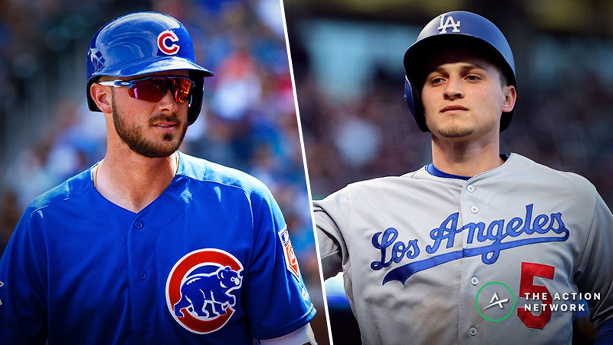 National League MVP Value Picks: Buy Low On Kris Bryant, Corey Seager article feature image