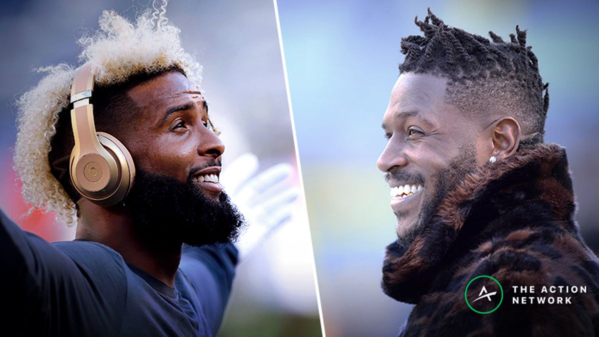 Antonio Brown, Odell Beckham Jr. and the True Worth of a 'Diva' WR article feature image