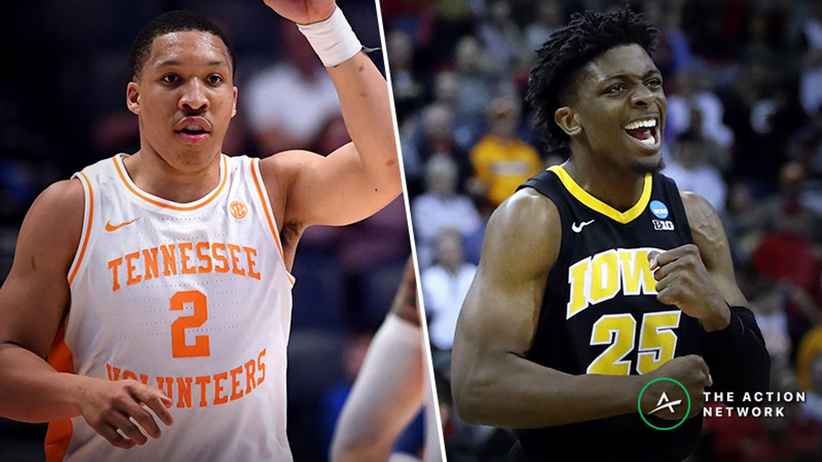 Tennessee vs. Iowa Betting Guide: Can Hot-Shooting Hawkeyes Top Vols in NCAA Tournament? article feature image