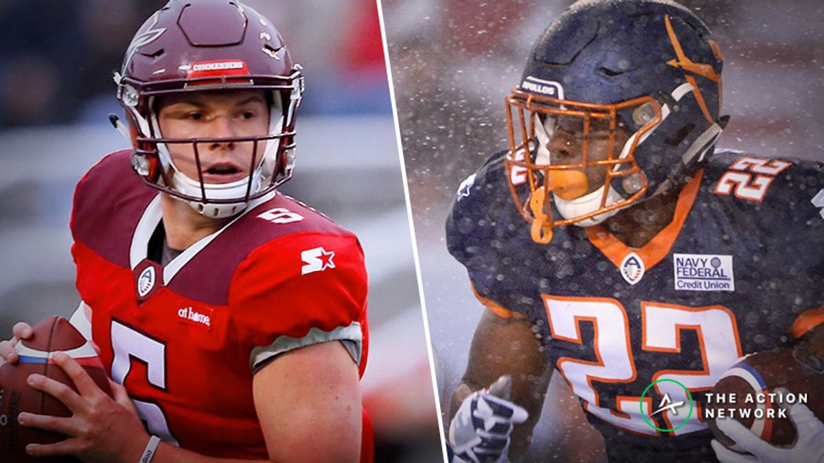 Your Ultimate Week 5 AAF Betting Guide: Picks, Analysis, More For All 4 Games article feature image