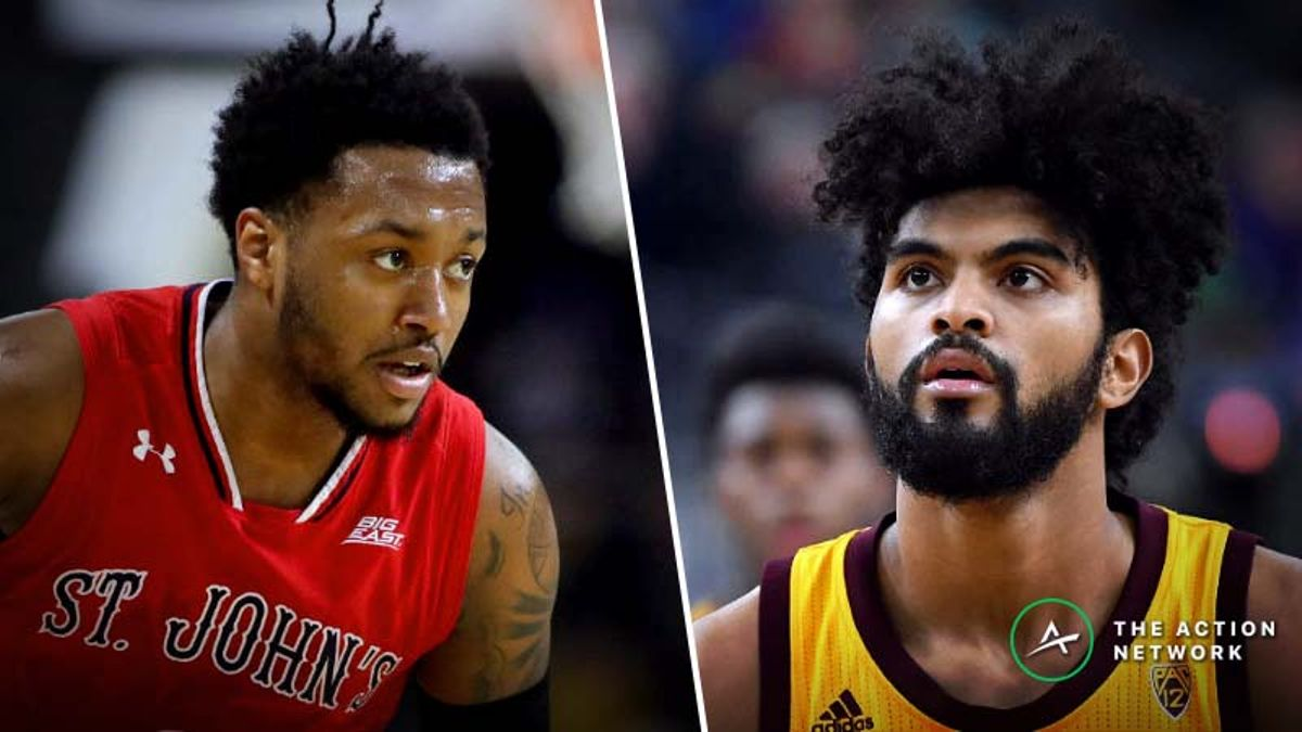 St. John's vs. Arizona State Betting Guide: Athleticism On Display in NCAA Tournament Play-In Game article feature image