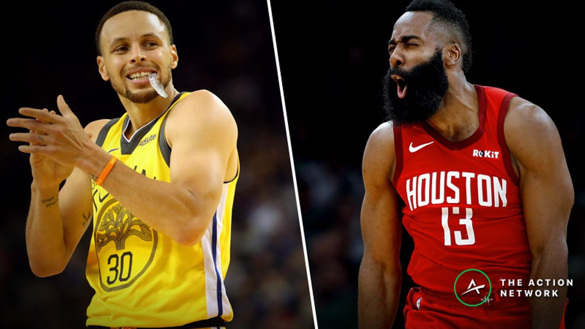 Warriors-Rockets Betting Preview: Fade Golden State in a Potential Western Conference Finals Preview? article feature image