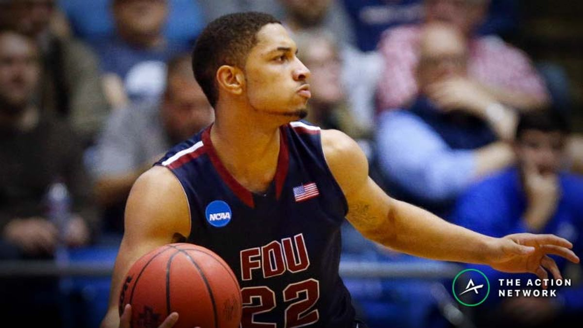 Freedman's Favorite Tuesday NCAA Tournament Prop: Will FDU's Darnell Edge Score 18 Points? article feature image