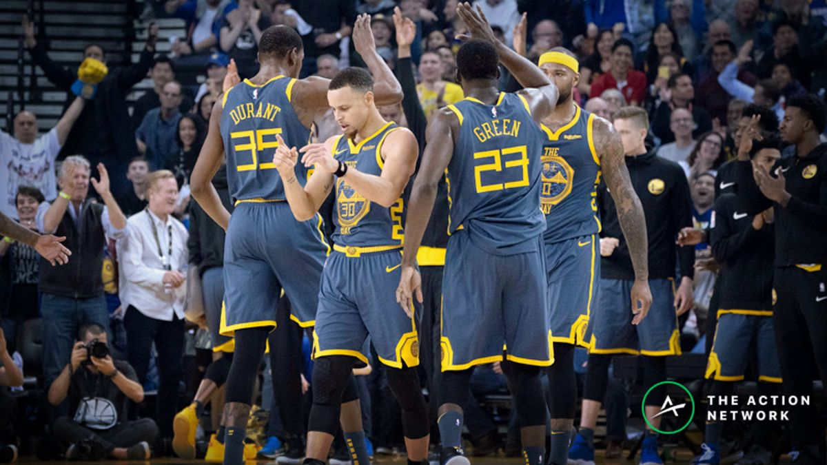 Current Warriors vs. 73-Win Warriors: Setting the Odds and Betting on the NBA2k Sim article feature image