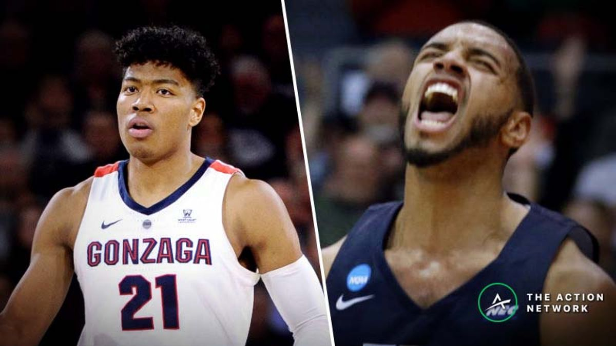 Gonzaga vs. Fairleigh Dickinson Betting Guide: Will Elevation, Overlook Be a Factor? article feature image