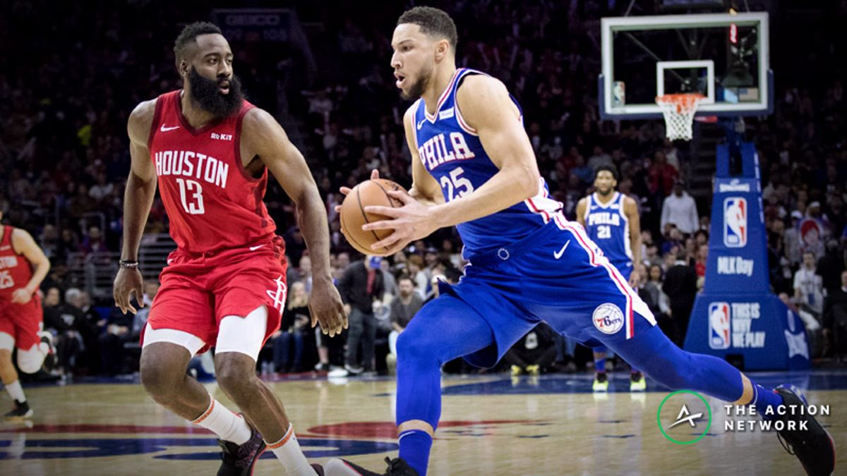 76ers-Rockets Betting Preview: Will Houston Extend Its Win Streak at Home? article feature image