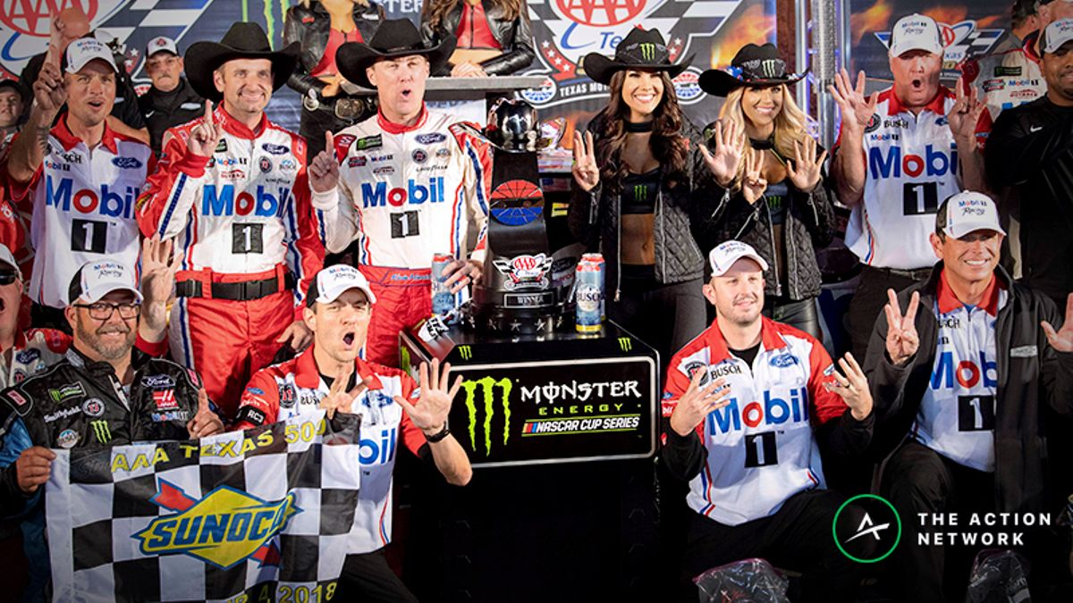NASCAR Props Challenge Picks for Sunday's Texas O'Reilly Auto Parts 500 article feature image