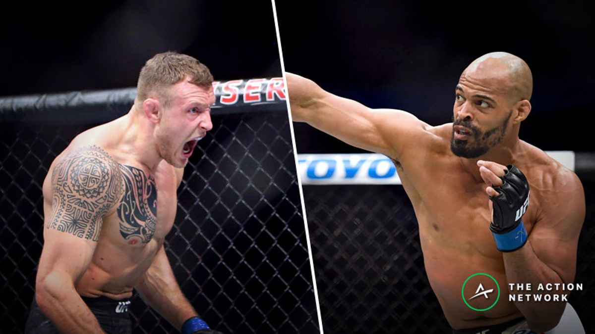 UFC on ESPN 2: Jack Hermansson and David Branch Meet in a Dangerous Co-Main Event article feature image