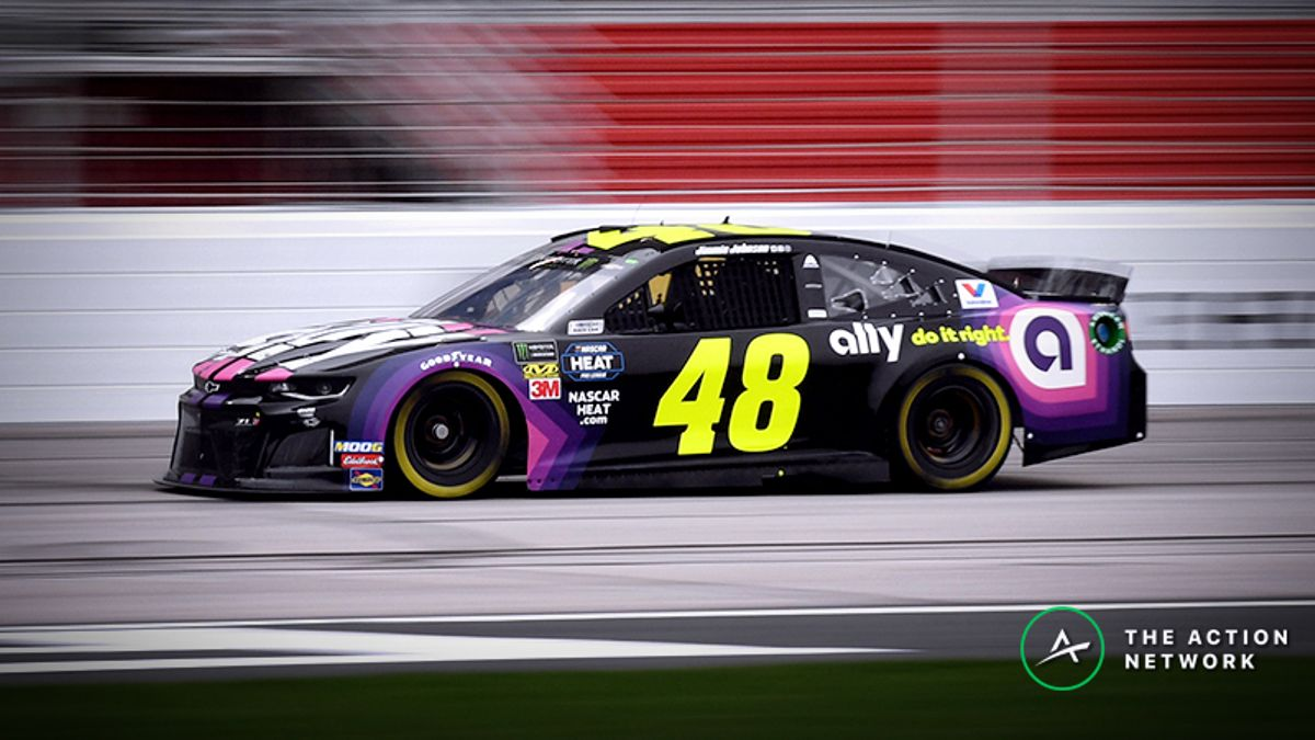 Freedman's Favorite NASCAR Matchup Props: Jimmie Johnson vs. Austin Dillon at Auto Club 400 article feature image