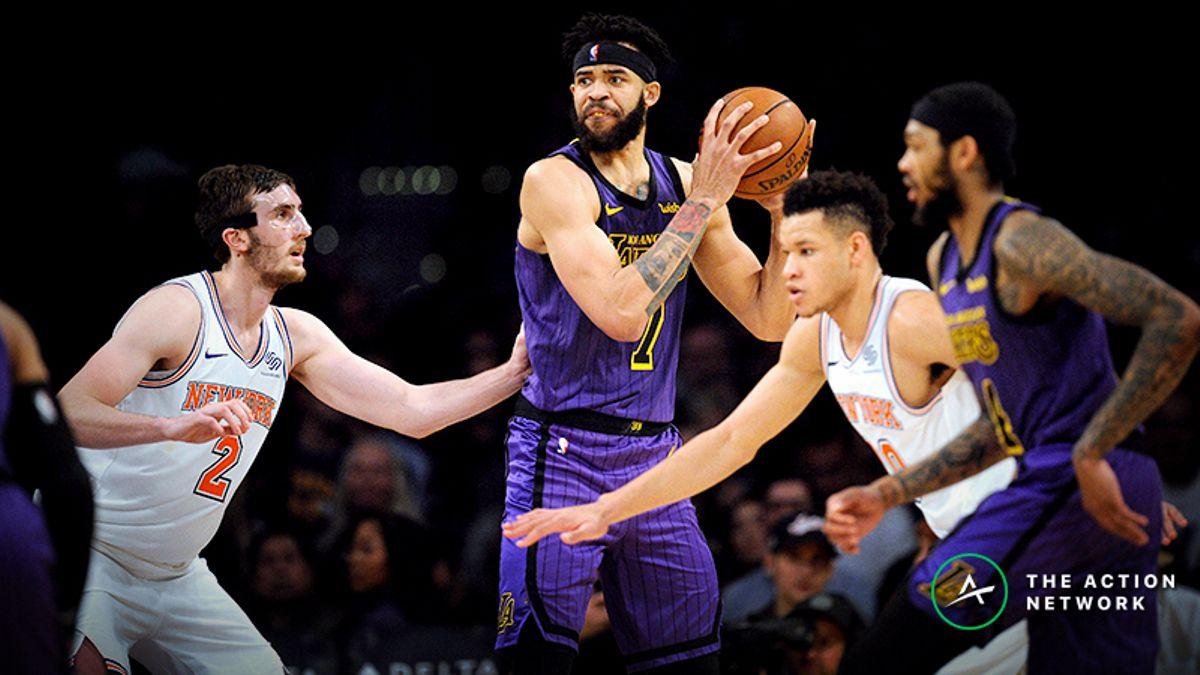 NBA Sharp Report: Pros Hitting Lakers-Knicks Sunday Matinee article feature image