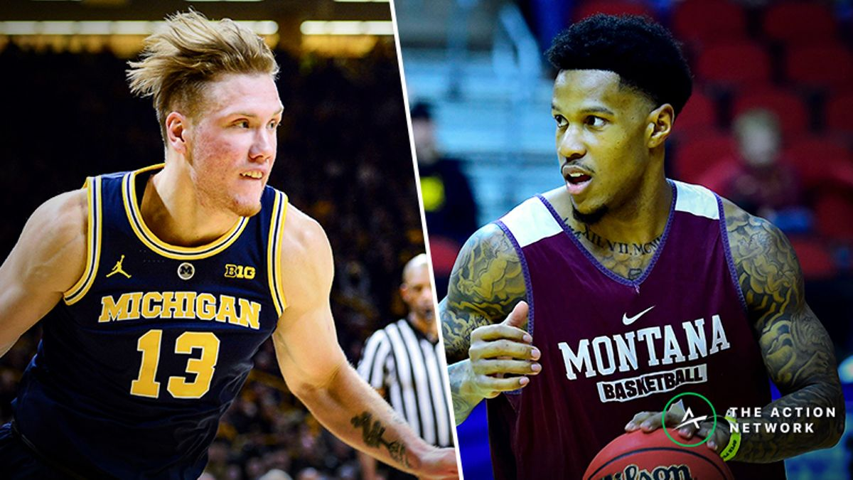Michigan vs. Montana Betting Guide: Can Grizzlies Get Hot from Deep in 2019 NCAA Tournament? article feature image