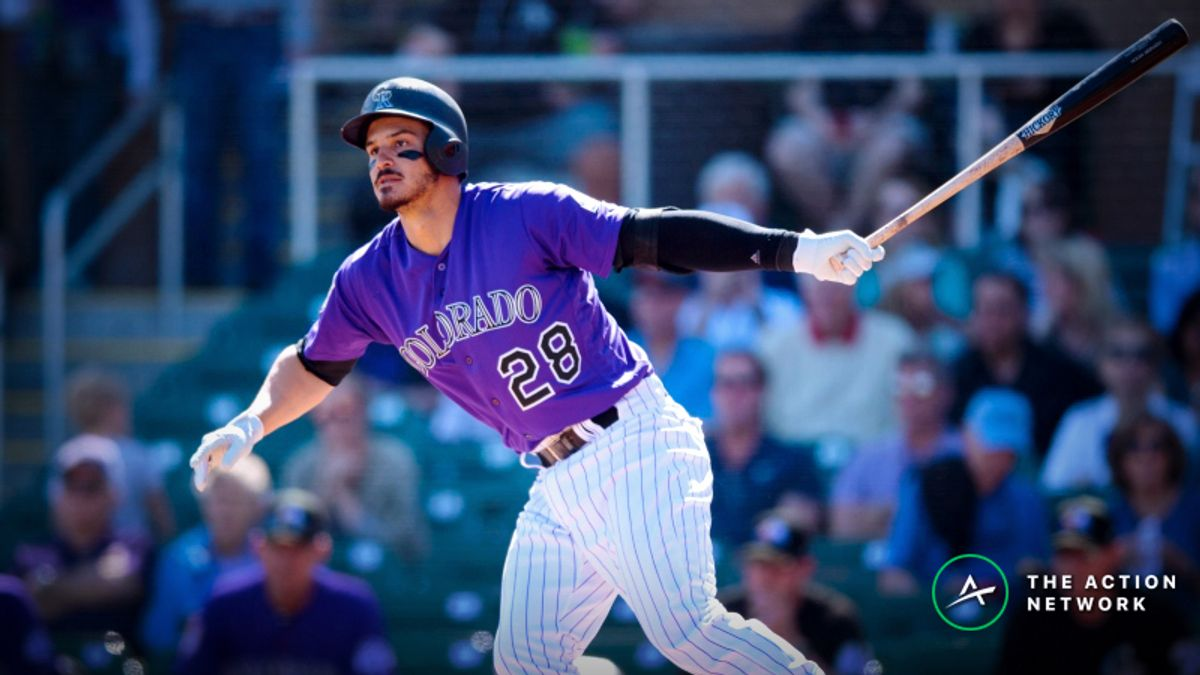 MLB Daily Betting Model, 4/11: Where's the Value in Rockies-Giants? article feature image