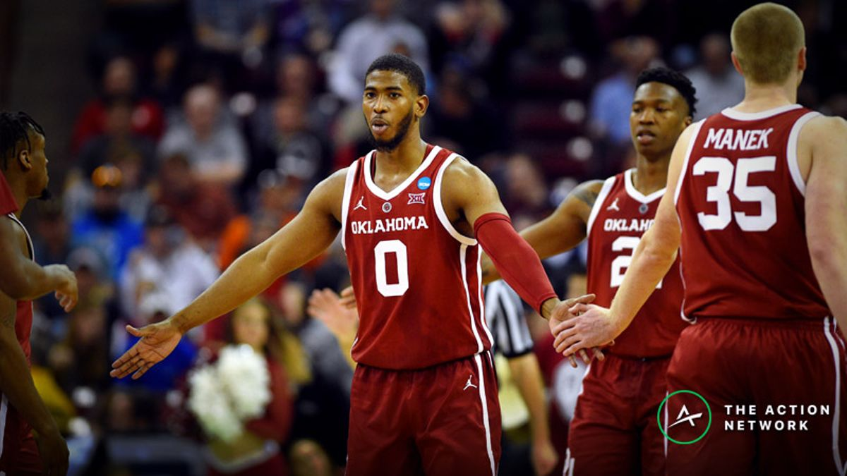 Freedman's Favorite Virginia-Oklahoma NCAA Tournament Player Prop Bets article feature image
