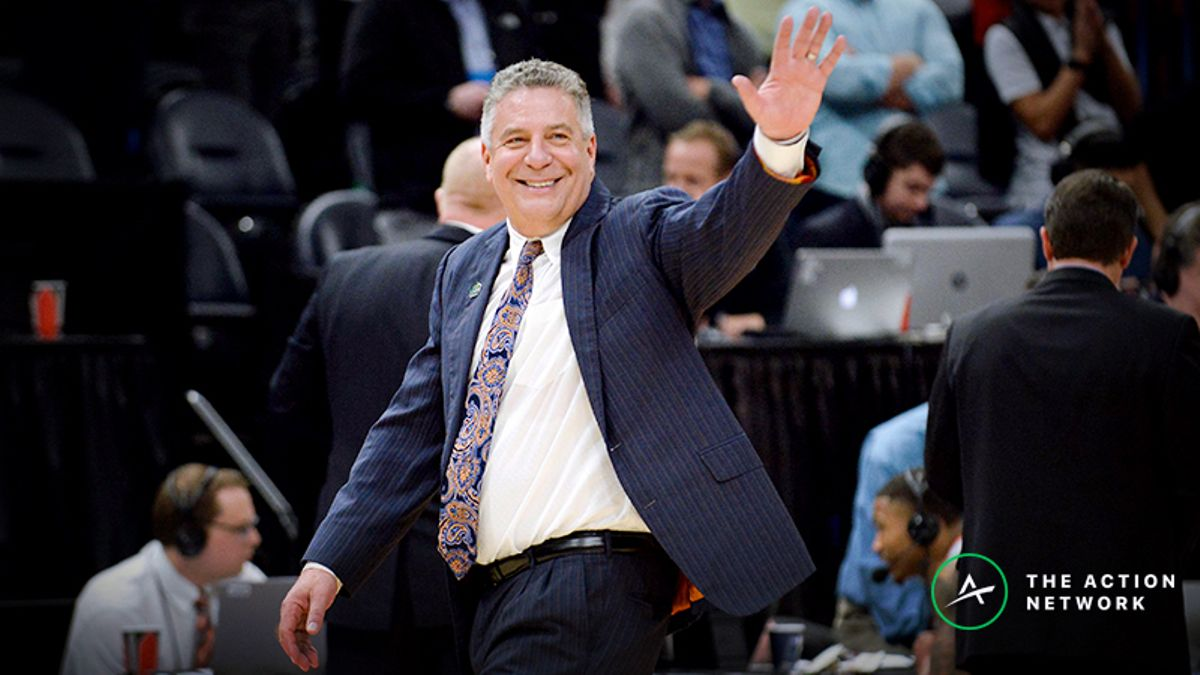 Bruce Pearl: 'Take the Over' in UNC-Auburn Sweet 16 Game article feature image