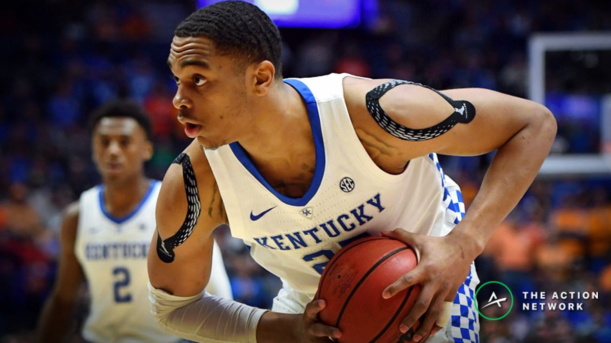 Freedman's Favorite Elite 8 Player Props for Kentucky-Auburn & Duke-MSU article feature image