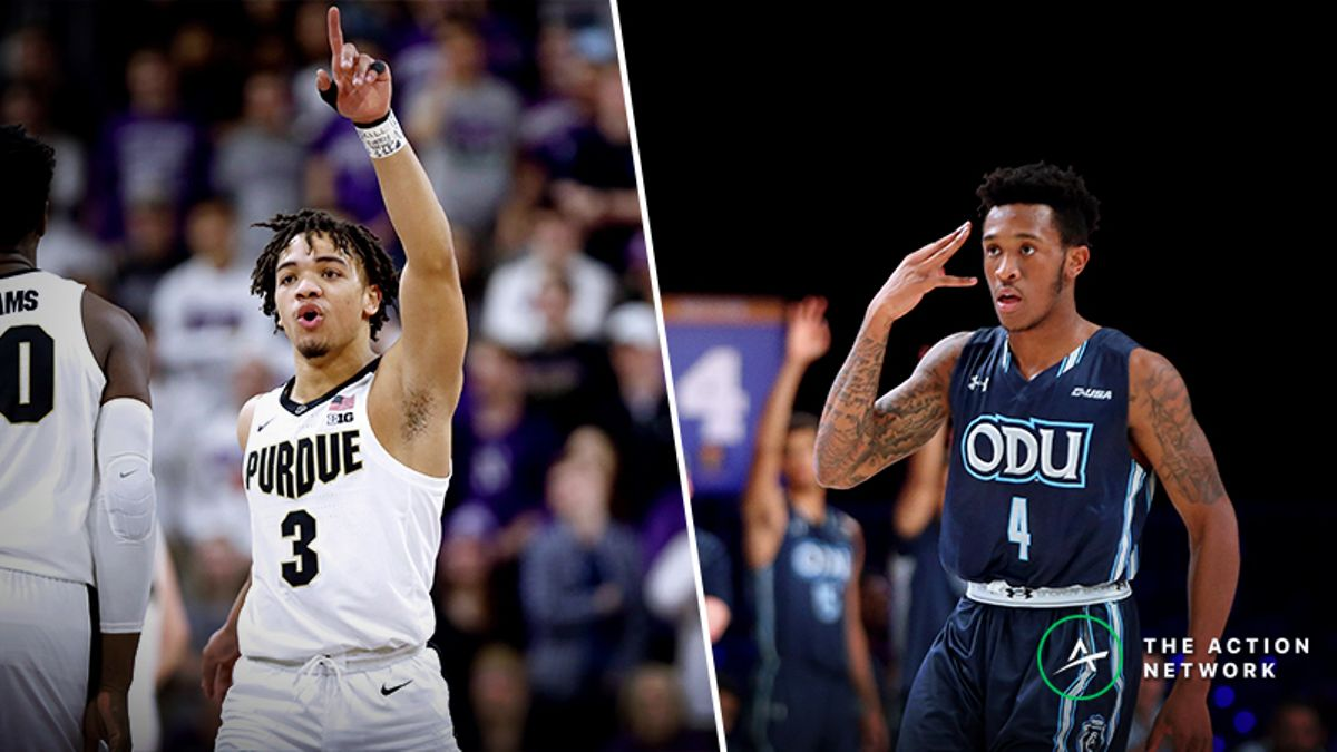 Purdue vs. Old Dominion Betting Guide: Can Monarchs Pull NCAA Tournament Shocker? article feature image