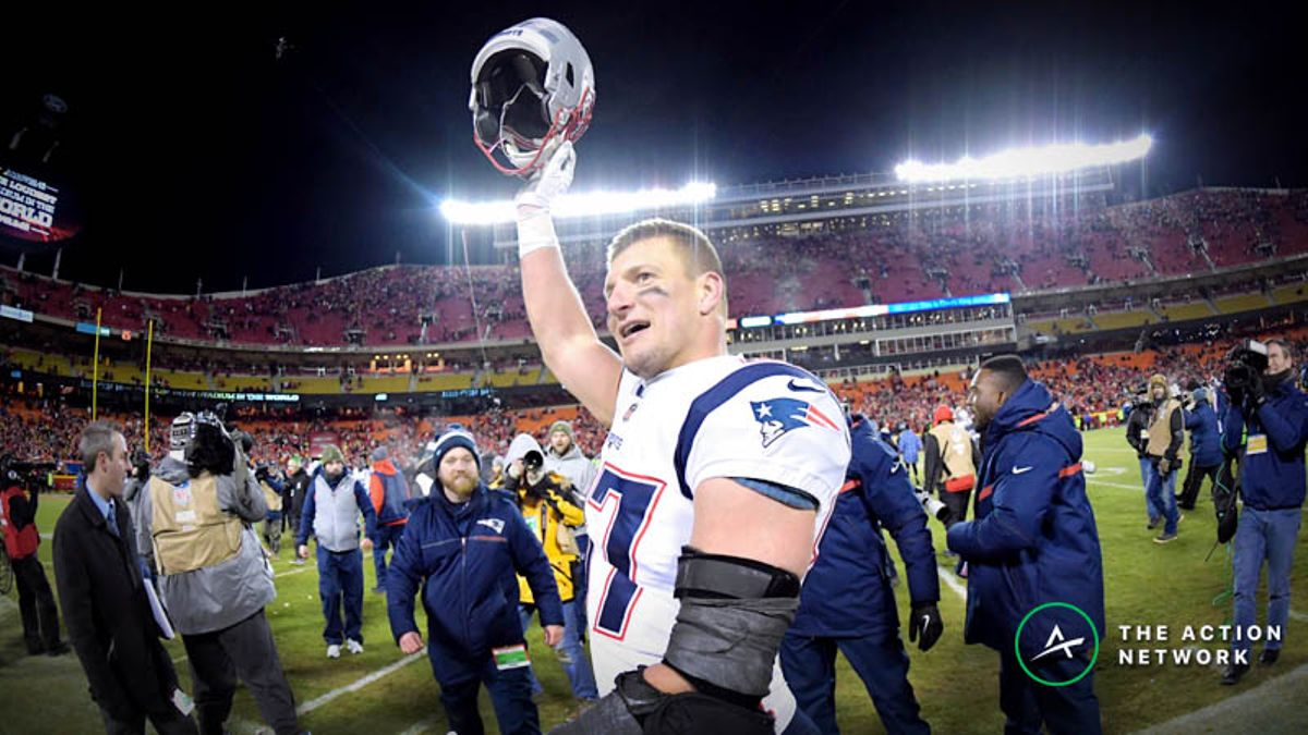 Farewell, Rob Gronkowski: The Most Valuable NFL Tight End Ever article feature image