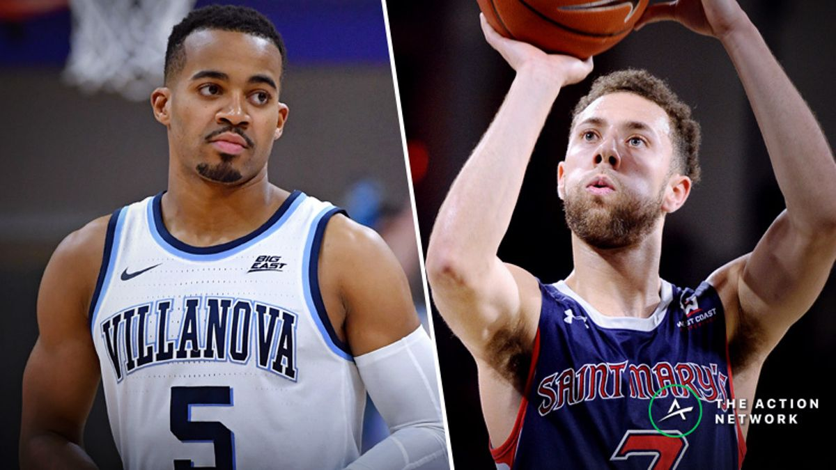 Villanova vs. Saint Mary's Betting Guide: Reigning Champs Tested Early in NCAA Tournament article feature image